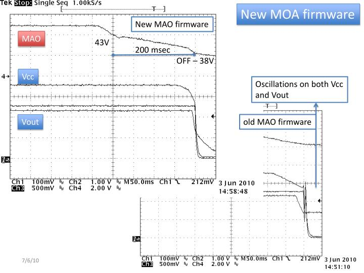 New MOA firmware