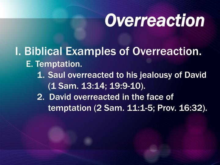 Overreaction