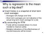 why is regression to the mean such a big deal