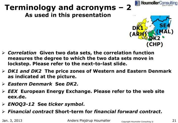 Terminology and acronyms – 2