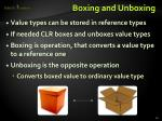 boxing and unboxing1