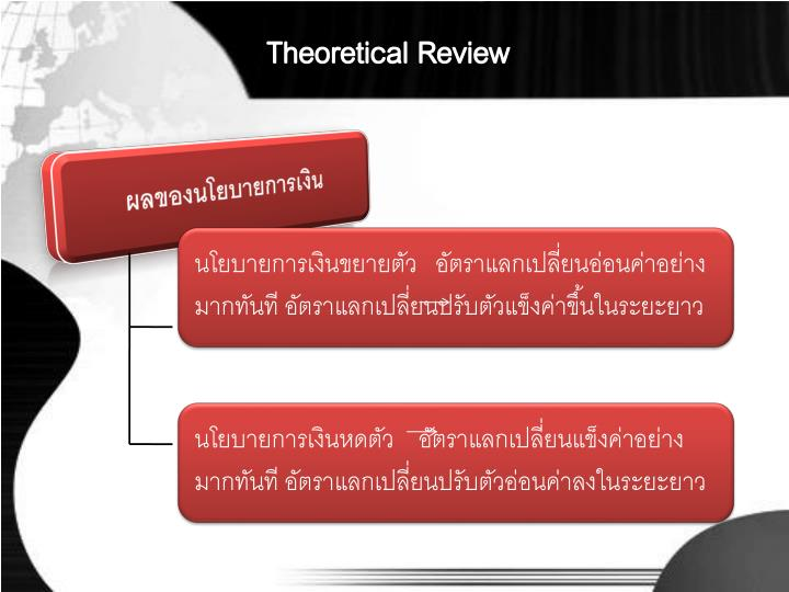 Theoretical Review
