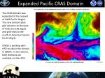 expanded pacific cras domain