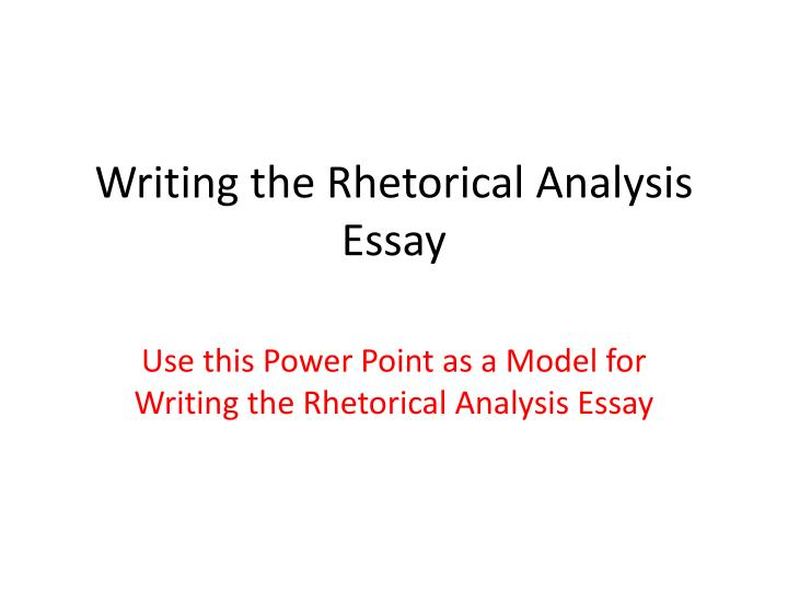 rhetorical analysis essay conclusions Use this list of 20 essay conclusion examples that covers a range of topics and essay formats as a stepping stone to inspire and inform your own writing.