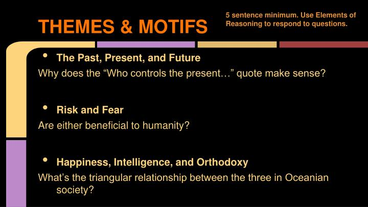 THEMES & MOTIFS