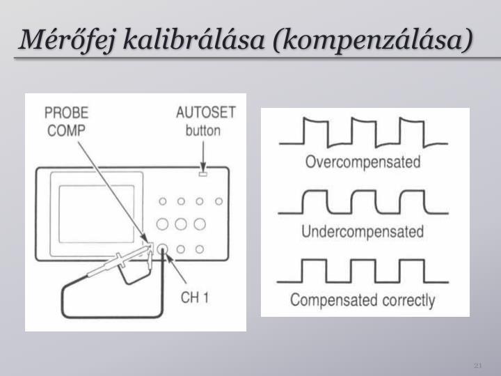 Mérőfej kalibrálása (kompenzálása)