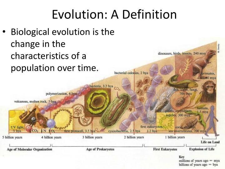 Evolution a definition