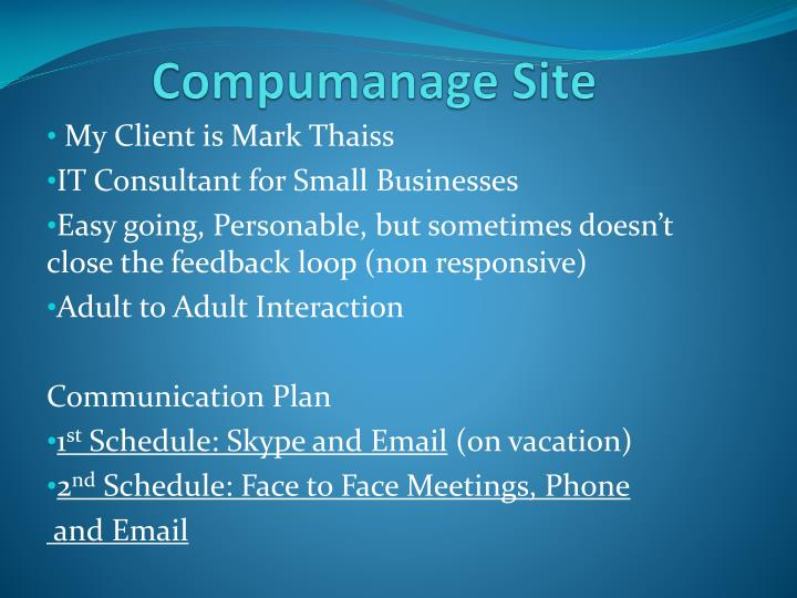 Compumanage site1