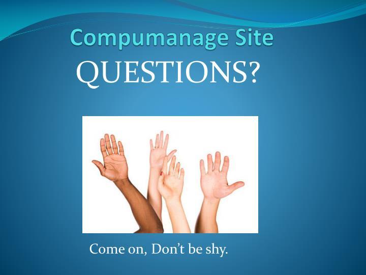 Compumanage