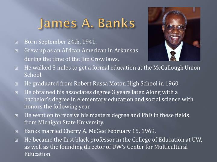 James a banks