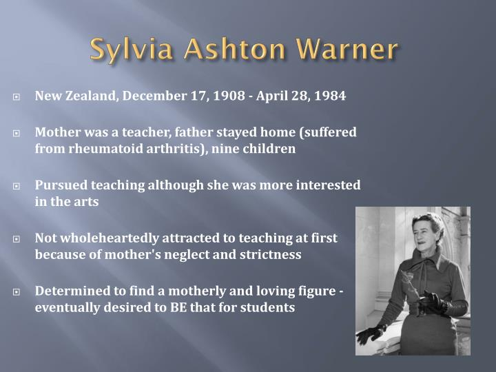 Sylvia Ashton Warner