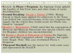 fights against school segregation