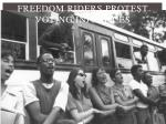 freedom riders protest voting injustices