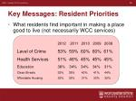 key messages resident priorities1