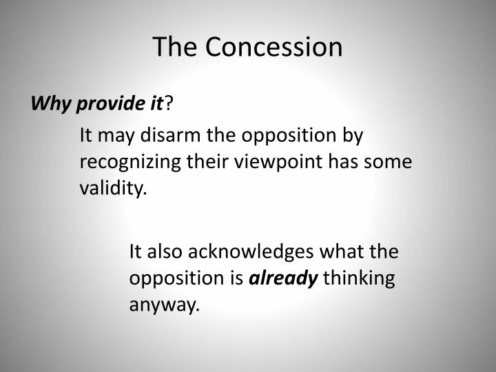 The Concession