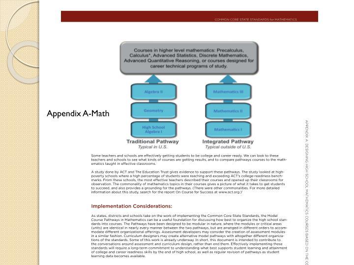 Appendix A-Math
