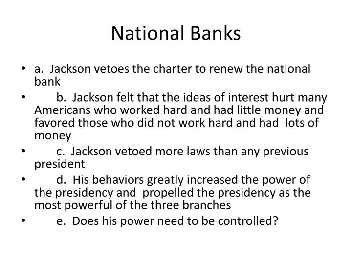 National Banks