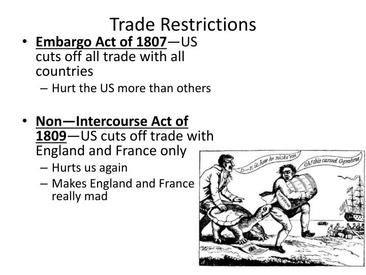 Trade Restrictions