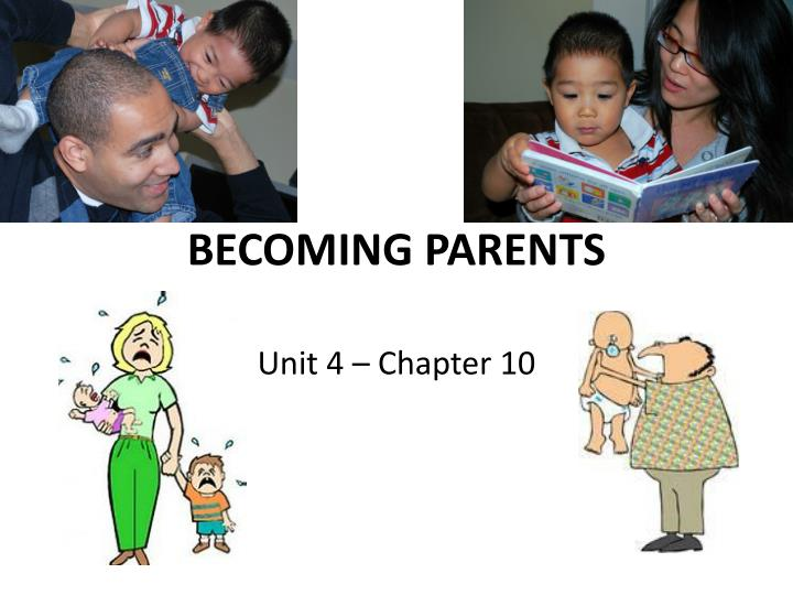 becoming parents n.
