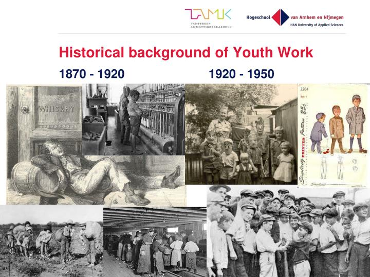 Historical background of Youth Work