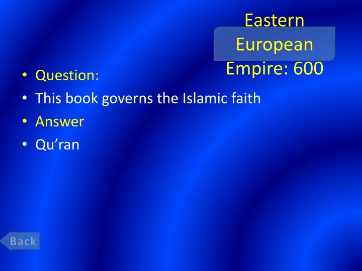 Eastern European Empire: 600