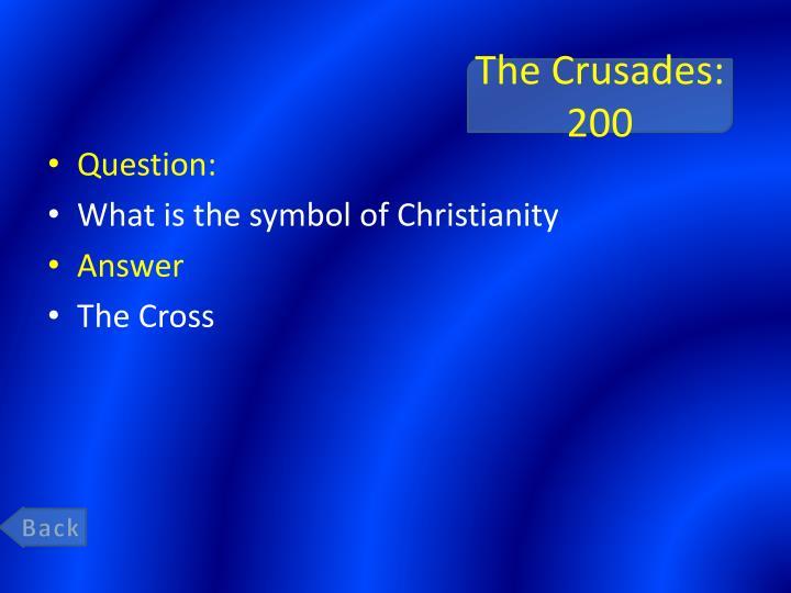 The Crusades: 200