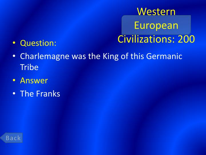 Western European Civilizations: 200