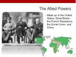 the allied powers