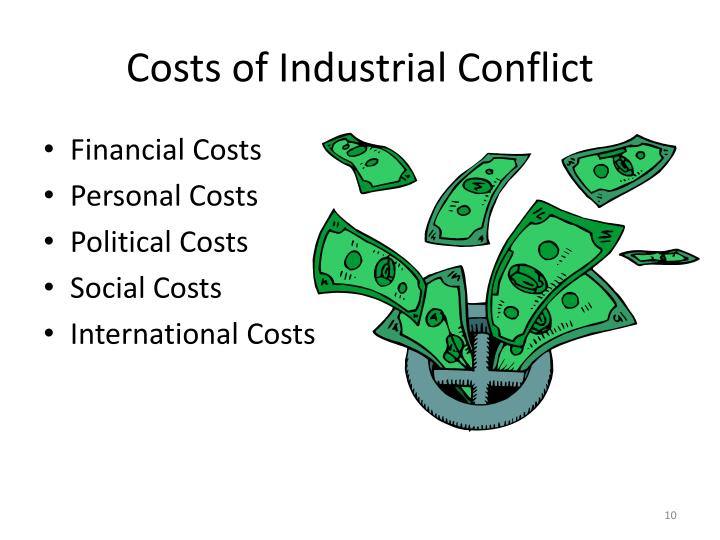 Costs of Industrial Conflict