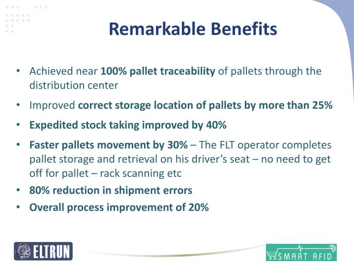 Remarkable Benefits