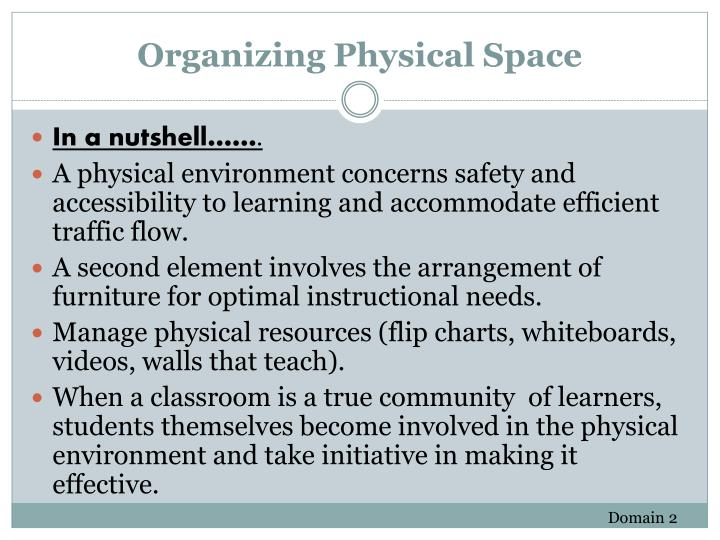 Organizing Physical Space