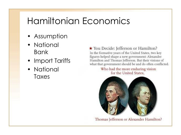Hamiltonian Economics