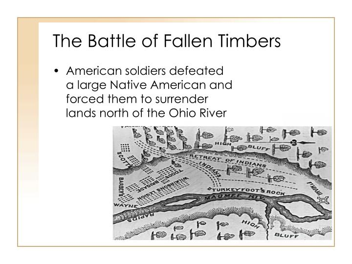 The Battle of Fallen Timbers