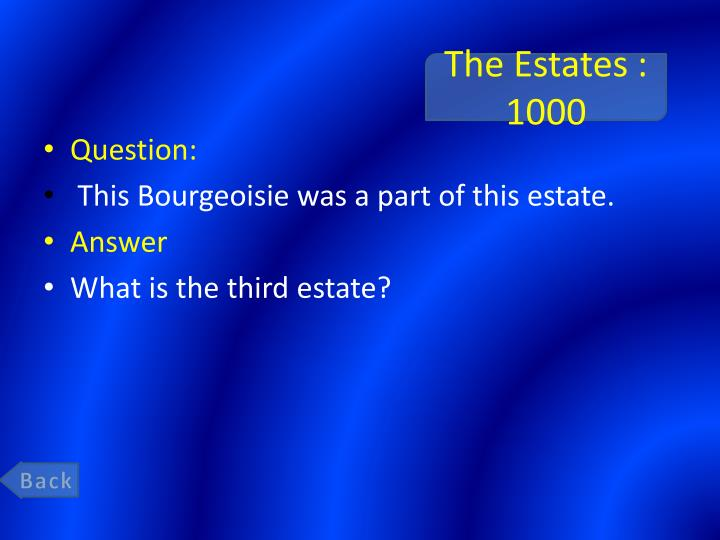The Estates : 1000