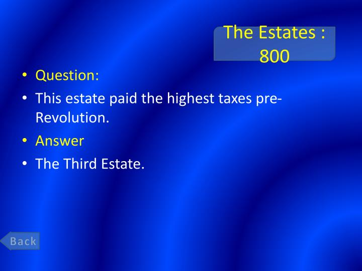 The Estates : 800