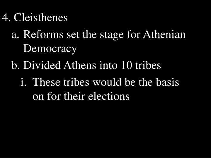 4. Cleisthenes
