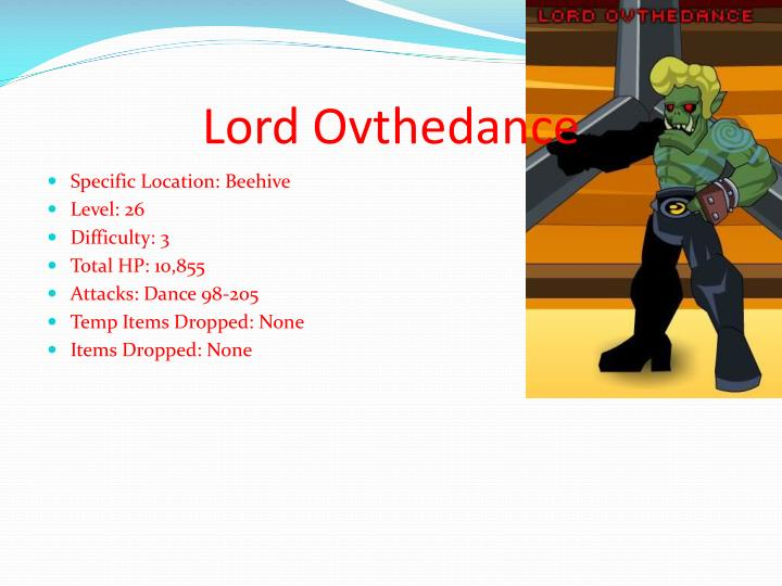 Lord Ovthedance