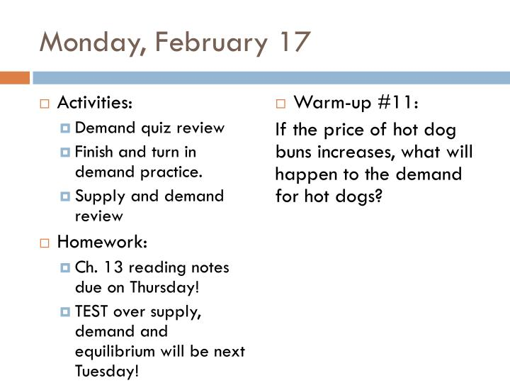 Monday, February 17