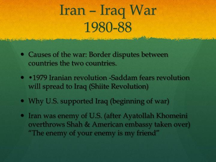 Iran – Iraq War