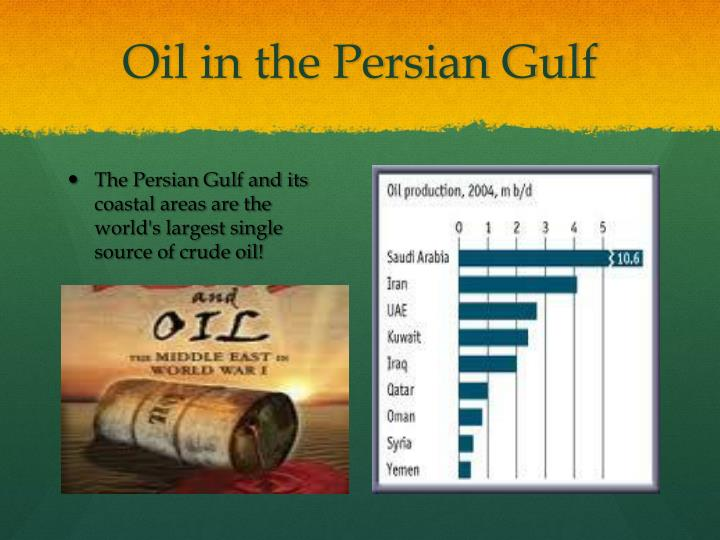 Oil in the Persian Gulf