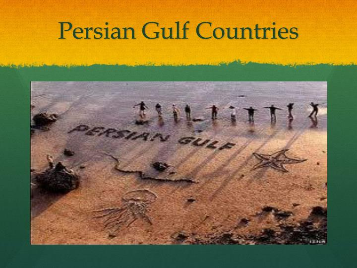 Persian gulf countries1