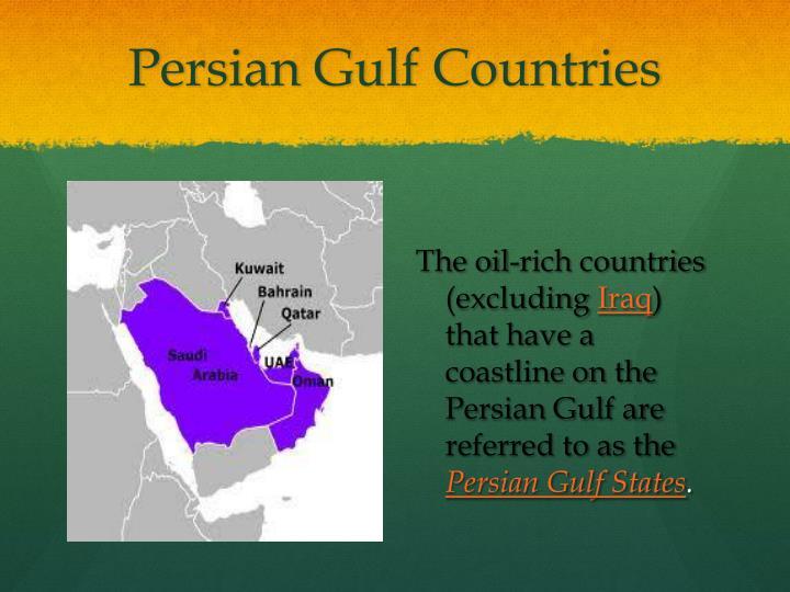 Persian gulf countries2