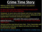 crime time story
