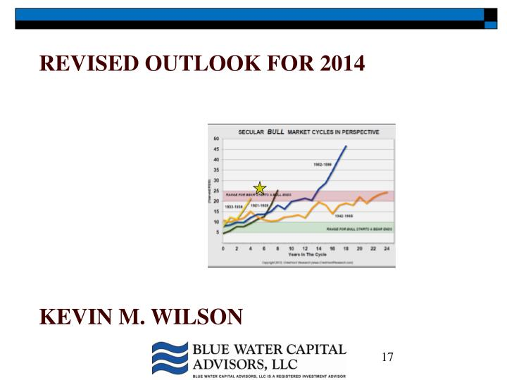 Revised outlook for 2014