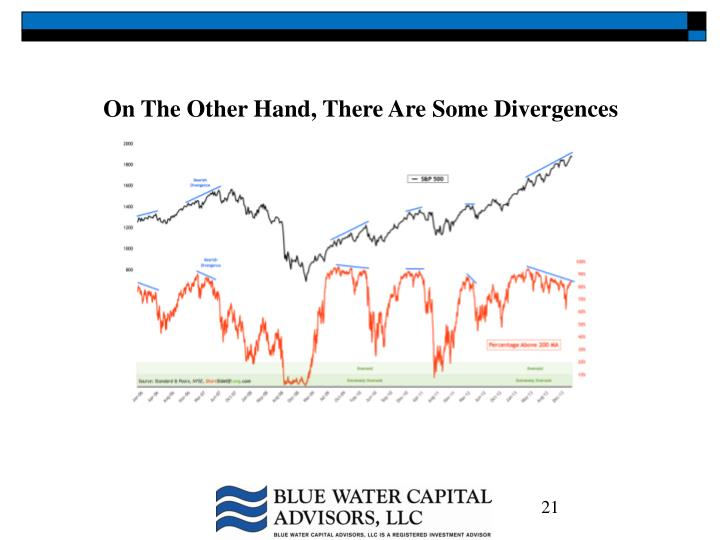 On The Other Hand, There Are Some Divergences