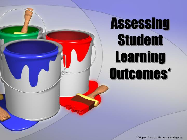 assessing student learning outcomes n.