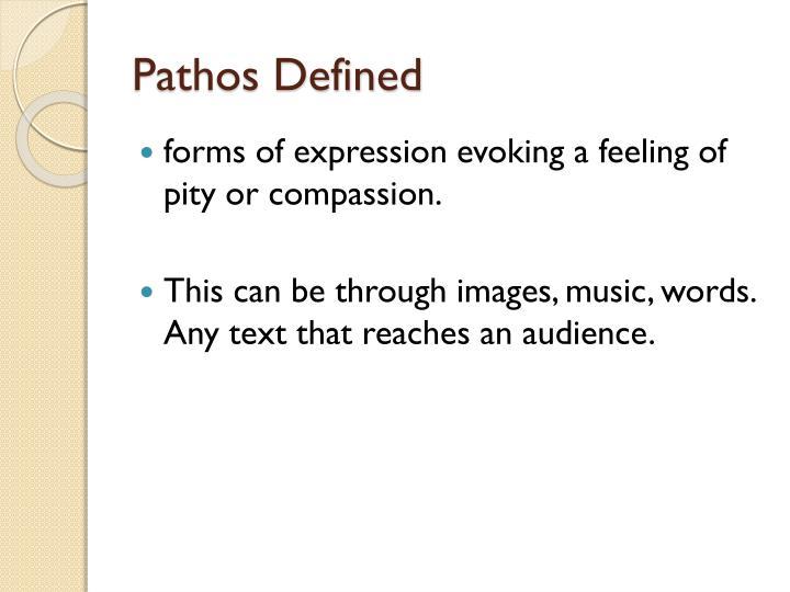 Pathos defined