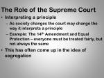 the role of the supreme court1