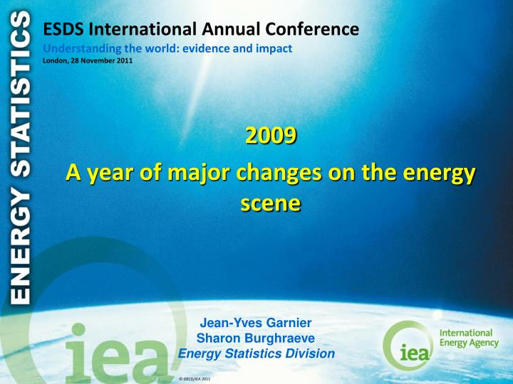 ESDS International Annual Conference