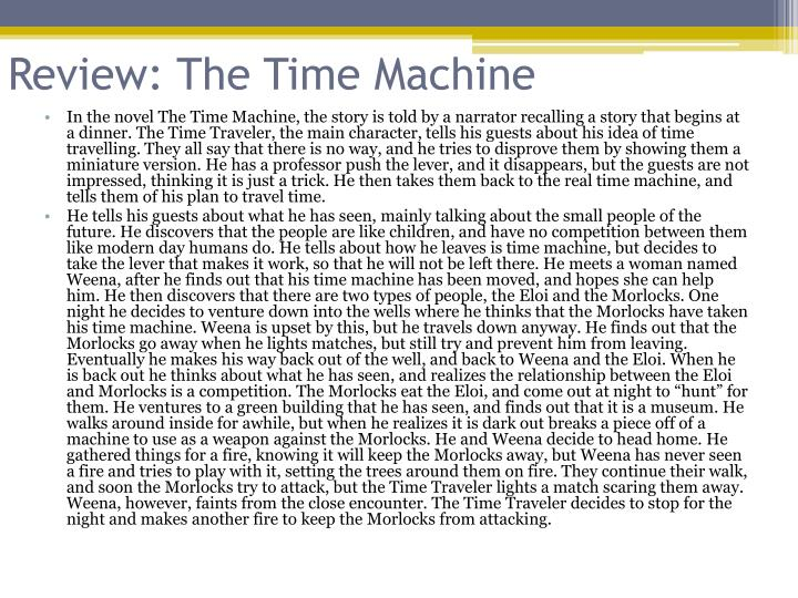 Review: The Time Machine